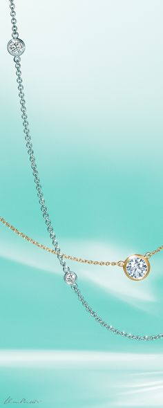ceacc16f38f2 Tiffany and Co. sterling silver lock pendant necklace. Sparkle and shine  all season long with Elsa Peretti® Diamonds by the Yard® designs
