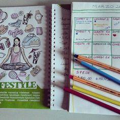 La primavera sta arrivando e ci sono tante cose da fare. Quindi meglio organizzarci. Certo che con il #bulletjournal si ritorna bambine e poi se inizio a colorare anche la mia #blognote il tè mi si fredda... . . . . . Bullet Journal, Spring