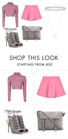 """""""Lindo"""" by euerikamiranda on Polyvore featuring moda, Glamorous, RED Valentino, Gianvito Rossi, Epoque e Tiffany & Co."""