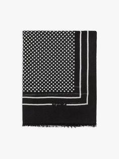 foulard nicky noir à pois | agnès b. Style, Black People, Swag, Outfits