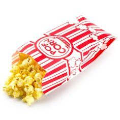 Carnival Pop Corn Bags by BonFortune on Etsy, $4.25