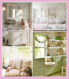 Cottage Market:: #25 Cottage Touches! (Decor Ideas, Tips, & Tutorials)