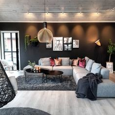 [New] The 10 Best Home Decor (with Pictures) - What a gorgeous living room! (c) owners Home Living Room, Living Room Designs, Living Room Decor, Living Spaces, Home Design, Interior Design, Modern Interior, Cozy Living, Small Living
