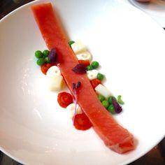Salmone affumicato con insalata russa