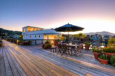 Houseboat Forty Dock Sausalito California Patio