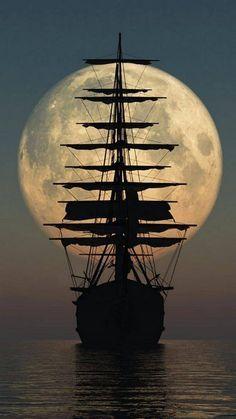 Pirate Ship Tattoos, Pirate Boats, Old Sailing Ships, Sailing Boat, Sailboat Art, Ship Paintings, Ship Art, Tall Ships, Pirates Of The Caribbean