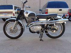 1967 Honda CL77 Scrambler 300