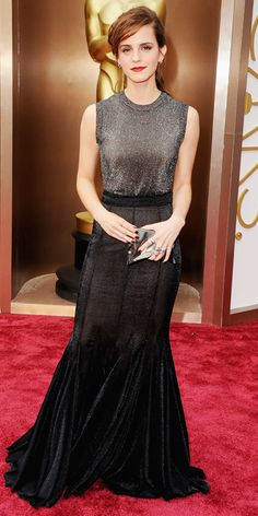 Oscars 2014 Red Carpet Arrivals - Emma Watson from #InStyle