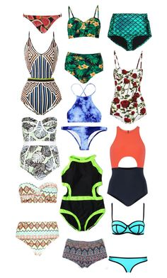 """Swimsuits for Days"" by snipstothehella on Polyvore featuring Monif C., Flagpole Swim, Boohoo, River Island, Dolce&Gabbana, Clover Canyon and Freya"