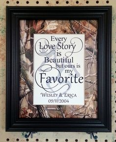 Personalized Realtree Camo Hardwoods Green by BluffViewDesign, $18.00
