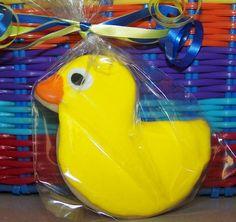 duck sugar cookie  by cupcake shop, via flickr