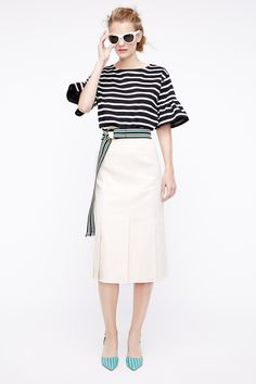 Aspiring Elizabeth Emanuel London Fabulous Long Pink Designer Linen Skirt Size 12 14 Uk Evident Effect Clothing, Shoes & Accessories