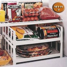 VERSATILE STACKABLE FREEZER AND FRIDGE SHELVES (SET OF 2)... https://www.amazon.com.mx/dp/B003H2LZQ6/ref=cm_sw_r_pi_dp_x_rYL6yb72YYTX8