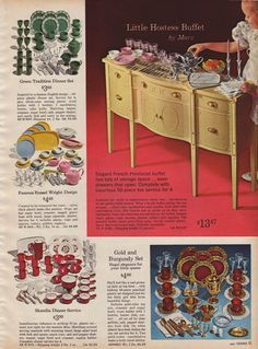 It was a Sears Exclusive, sold in the Sears 1968 Christmas Catalog for $ 6. Description from pinterest.com. I searched for this on bing.com/images