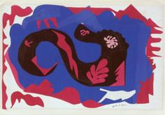 The Dragon Henri Matisse, Matisse Cutouts, Museum Of Modern Art, Moma, Fabric Design, Collage, Drawings, Prints, Scissors
