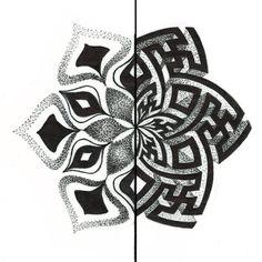 Mandala Geometric Mandala Tattoo, Mandala Sleeve, Geometric Tattoo Design, Geometry Tattoo, Mandala Tattoo Design, Geometric Designs, Tattoo Designs, Japanese Tattoo Art, Geniale Tattoos