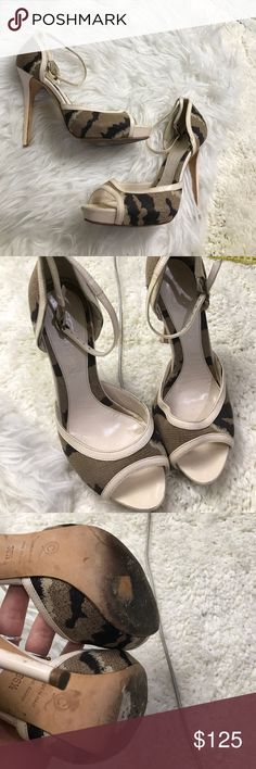 ALEXANDER MCQUEEN 6.5 36.5 HEELS SHOES USED PUMPS Super cute shoes 100% authentic Alexander McQueen Shoes