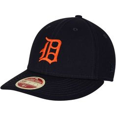 b6ed1441b0c20 Men s Detroit Tigers New Era Navy Cooperstown Collection Vintage Fit  59FIFTY Fitted Hat