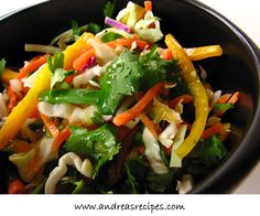 Asian Cabbage Salad - very low points!
