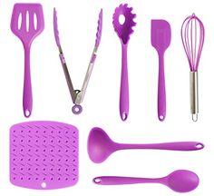 Re-Designed Silicone Kitchen Utensils Set, 8 Piece Purple... https://smile.amazon.com/dp/B01L9D0G14/ref=cm_sw_r_pi_dp_x_pBqvzb46C897W