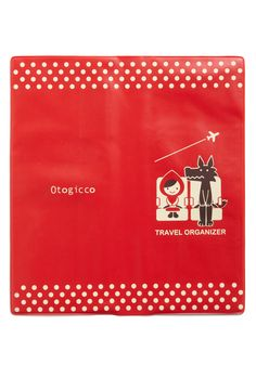 Red Riding Hood and Wolf Travel Organizer