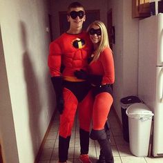 The Incredibles Couples Costume