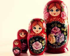 russian matryoshka dolls to paint   Matryoshka doll – Russian doll