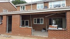 Kitchen Extensions, Garage Doors, Outdoor Decor, Home Decor, Decoration Home, Room Decor, Home Interior Design, Carriage Doors, Home Decoration