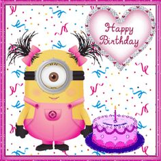 Happy Birthday Minions Images And Quotes - Happy Birthday Time Minion Birthday Wishes, Happy Birthday Wishes Cards, Birthday Wishes For Friend, Birthday Blessings, Birthday Songs, Birthday Greetings, Funny Birthday, Cute Happy Birthday Quotes, Happy Birthday Images