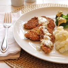 Pistachio Encrusted Chicken With Mustard Dill Cream Sauce and 3 White Lies Oven Baked Chicken Tenders, Breaded Chicken, Chicken Eggs, Zucchini Benefits, Leftover Mashed Potatoes, Gnocchi Recipes, Fresh Chicken, Turkey Burgers, Cooking
