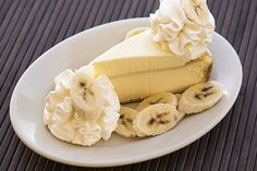 Excuse us while we go bananas over this! - Fresh Banana Cream Cheesecake