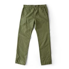 Mollusk Chinos, Faded Mash Green