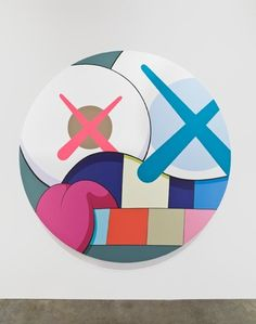 Painting by KAWS.