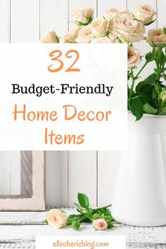 Searching for the best Home Decor items? We have got 32 of the best home decor items to suit all budgets to make your home look amazing. Click now. Home Decor Styles, Home Decor Items, Diy Home Decor, First Apartment Decorating, Decorating On A Budget, Home Decor Inspiration, Decor Ideas, Food Stamps, Cozy House