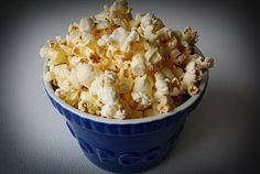 Healthy Kettle Corn. My absolute favorite snack!