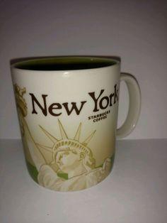 New Starbucks Jamaica W// National Bird /& Flower Icon 16oz Coffee Mug Cup