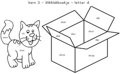 Kern 3 - klikklakboekje - letter d