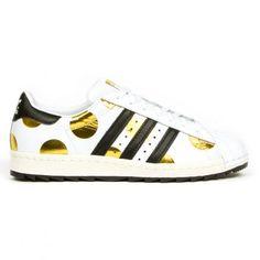 ADIDAS ORIGINALS BY JEREMY SCOTT SUPERSTAR 80'S RIPPLE #sneaker