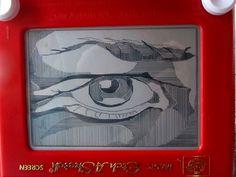 Etch A Sketch Art