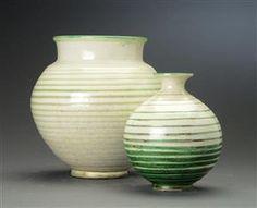 Vare: 4329784Kähler. To vaser af lertøj (2)