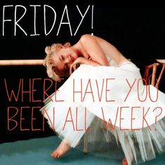 It's Friday! From The Milly and Grace Girls