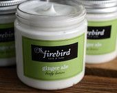 Gingerale Body Lotion - Avocado and Shea Butter Body Lotion