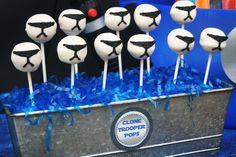 B Moore Celebrations B's Birthday / Star Wars - Photo Gallery at Catch My Party Star Wars Birthday, Star Wars Party, Star Wars Cake Pops, Cake Pop Displays, 6th Birthday Parties, Birthday Ideas, Happy Birthday, Baby Shower Cake Pops, Movie Night Party