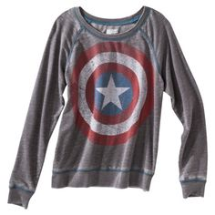 Captain America sweater? Yes, please!