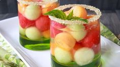 6 fresh fruit cocktails for summer your guests wont be able to resist. These are fantastic!