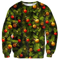 X-mass Tree sweater Front