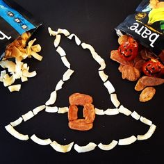 'Witch' crunchy chip has you screaming for more? Chilling coconut or wicked banana? #puns #halloween #Buahahahahahaha #healthysnacks #noscaryingredients #realfruit #snacksgonesimple #bareart #chipart #locoforcoco #baregoesbananas