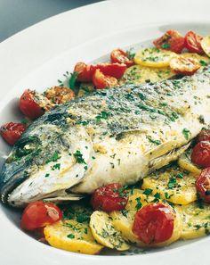 Italian Cooking - The Joys Of Cooking Italian Dishes! Avocado Recipes, Fish Recipes, Meat Recipes, Seafood Recipes, Chicken Recipes, Healthy Recipes, Tunisian Food, Fish Dishes, Casserole Recipes