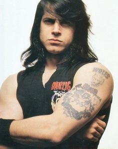 Glenn Danzig of The Misfits. Horror punk. Need I say more?