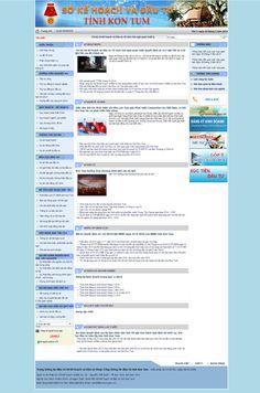 Website Sở Kế Hoạch Và Đầu Tư Tỉnh Kon Tum - Thiết kế web http://cnm.com.vn